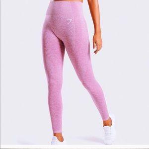 Gymshark pink vital seamless leggings